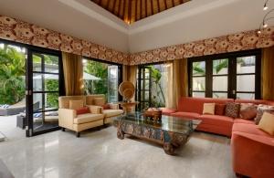 The Residence Seminyak - Villa Amman - Living room
