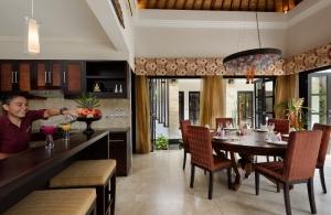 The Residence Seminyak - Villa Amman - Kitchen & Dining