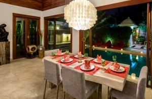 The Residence Seminyak - Villa Menari - Dining area