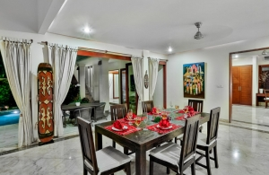 The Residence Seminyak - Villa Shanti - Dining room