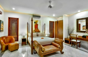 The Residence Seminyak - Villa Shanti - Bedroom three interior