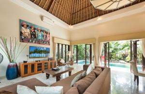 Villa Siam - Living area