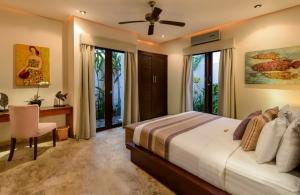 The Residence Seminyak - Villa Siam - Bedroom one interior