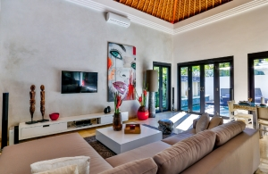 The Residence Seminyak - Villa Amala - Living room