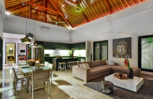The Residence Seminyak - Villa Amala - Living & Dining