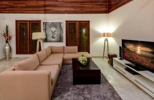 The Residence Seminyak - Villa Menari - Living area