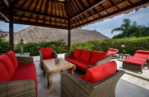 The Residence Seminyak - Villa Siam - Outdoor living