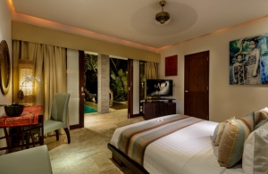 The Residence Seminyak - Villa Siam - Bedroom one interior