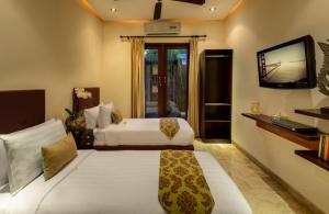The Residence Seminyak - Villa Siam - Bedroom two interior