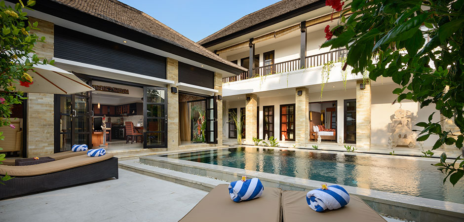 The Residence Seminyak, Villa Amman, 4 bedrooms superior pool villa